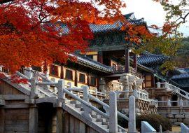 Chùa Hàn Quốc nổi tiếng