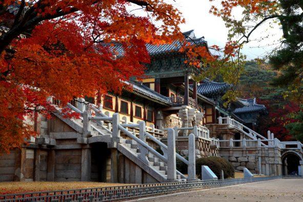 Chùa Hàn Quốc nổi tiếng Bulguksa