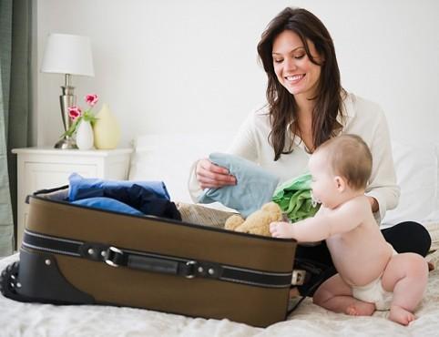 Du lịch cùng gia đình có trẻ nhỏ
