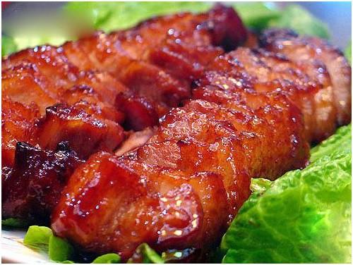 Ẩm thực Trung Quốc thịt quay Quảng Đông