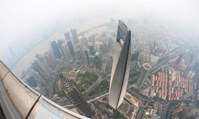Check-in Trung tâm Tài chính thế giới trong chuyến du lịch Thượng Hải