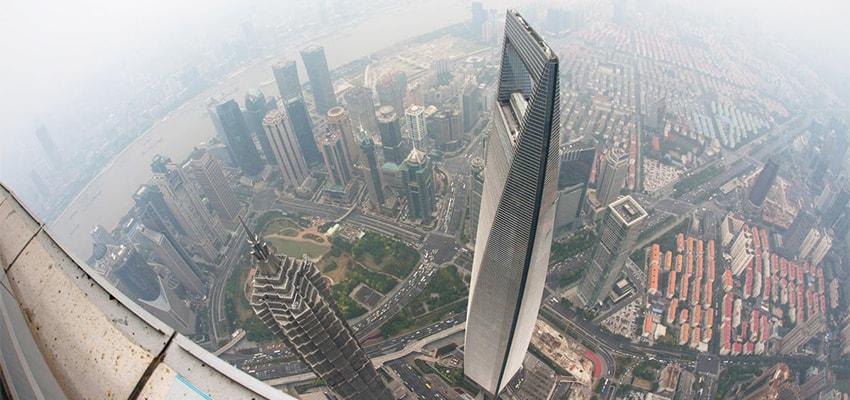 Du lịch Thượng Hải tại Trung tâm Tài chính thế giới ở Thượng Hải