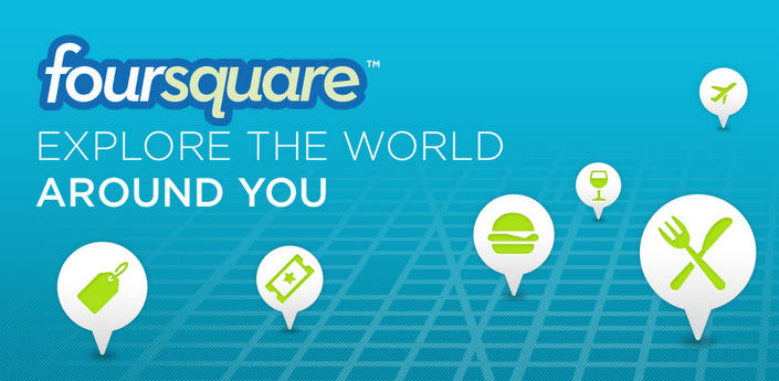 Ứng dụng du lịch Foursquare