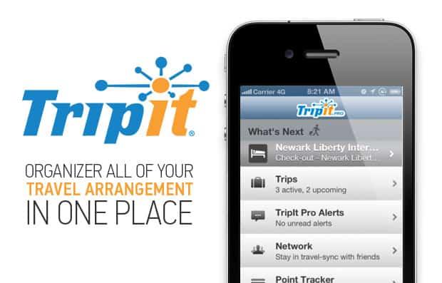 Ứng dụng du lịch Tripit