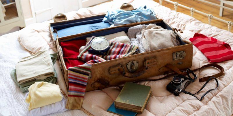 Xếp đồ vào vali 2