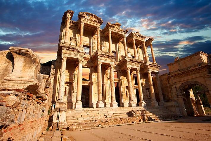 địa-điểm-du-lịch-thổ-nhĩ-kỳ-Celsus-library copy