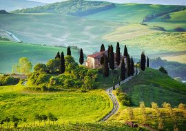 du-lịch-italy-Tuscany-farm-house