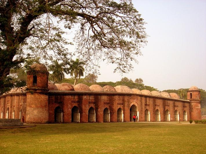 du-lịch-bangladesh-Shait-Gumbad-Masjid-711