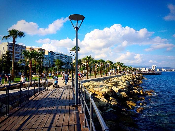 du lịch Síp Limassol Promenade