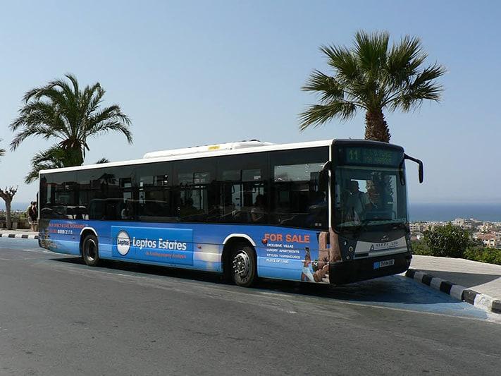Du lịch Síp bằng xe bus
