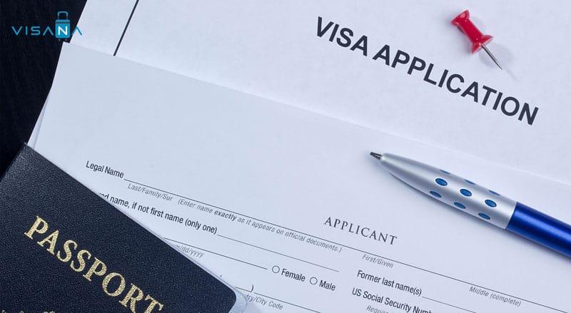 Tờ khai xin visa công tác Nhật Bản - Visana