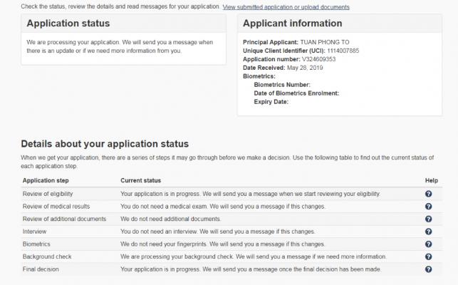 Hướng dẫn làm đơn xin visa Canada online
