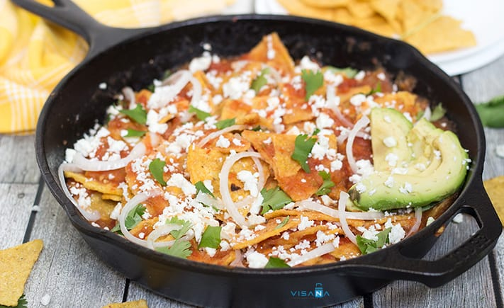Chilaquiles du lịch mexico