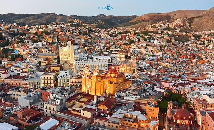 Guanajuato du lịch mexico