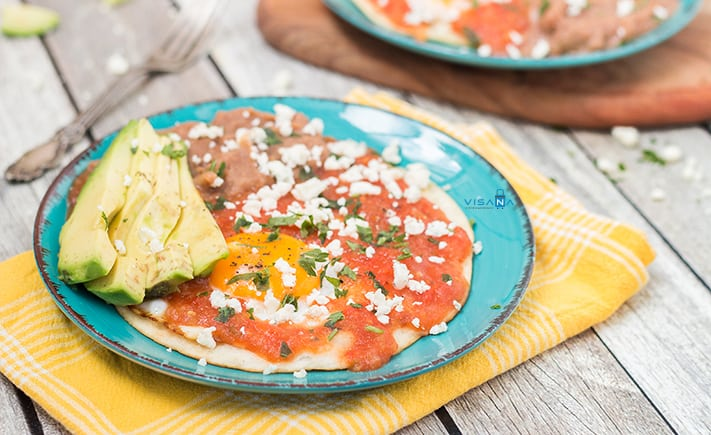 Huevos rancheros du lịch mexico