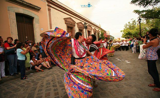 Lễ hội khiêu vũ Guelaguetza