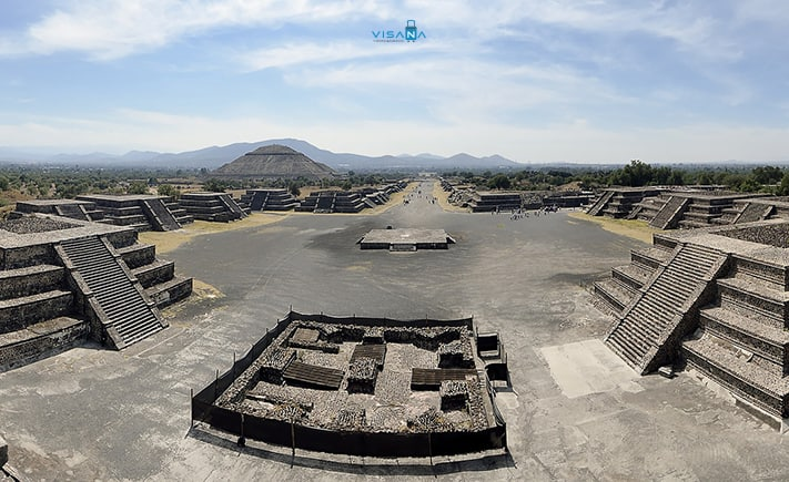 Teohihuacan du lịch mexico