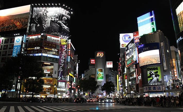shibuya du lịch nhật bản