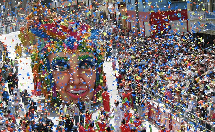 Carnival du lịch tây ban nha