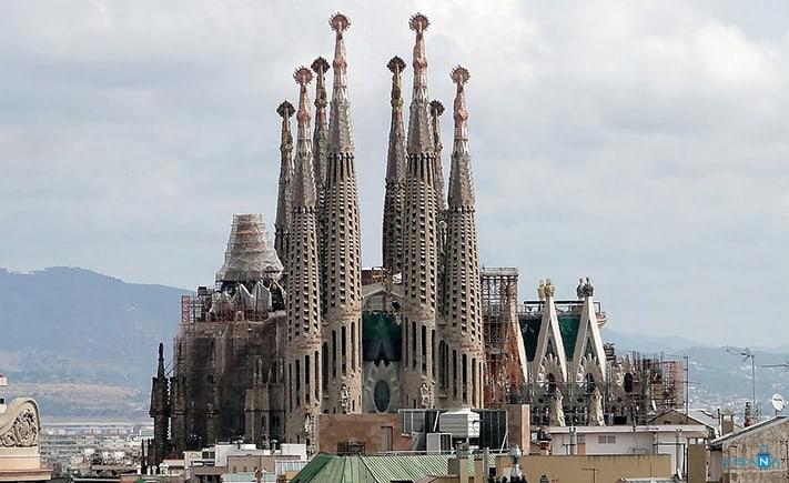 du lịch tây ban nha La Sagrada Familia