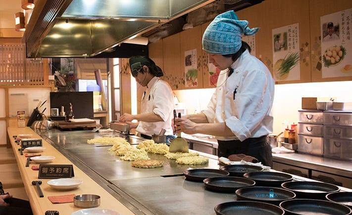 Okonomiyaki du lich nhat ban