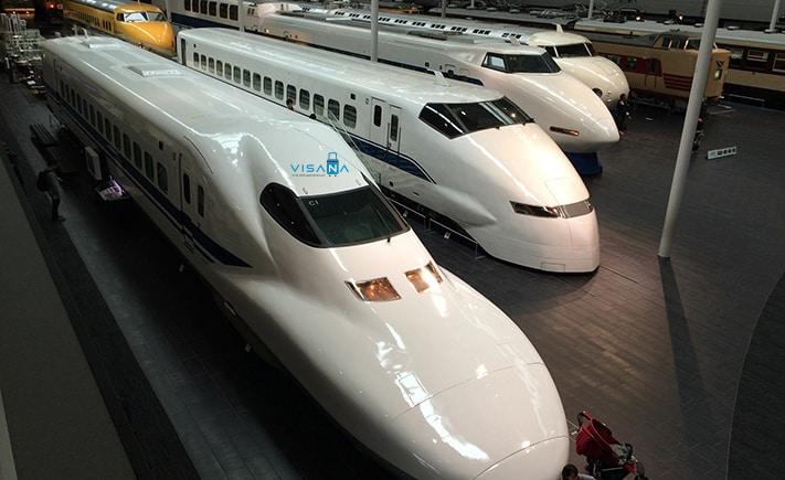 Shinkansen du lich nhat ban