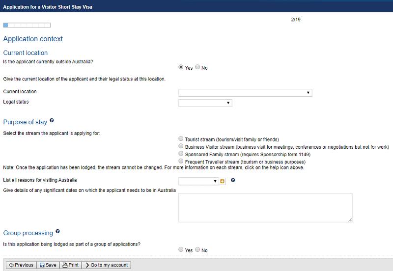 hướng dẫn xin visa Úc