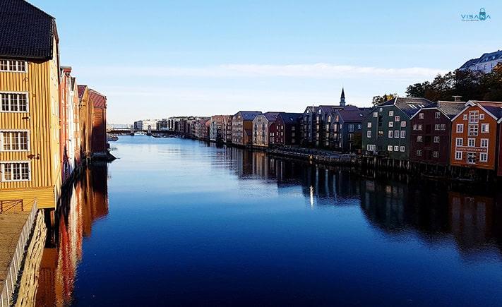 Trondheim du lich Na Uy