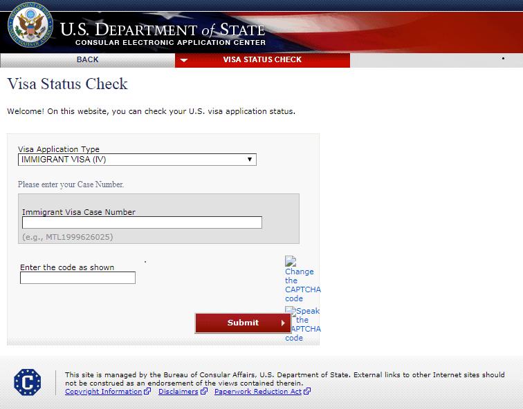 Kiểm tra tình trạng visa Mỹ - Visana