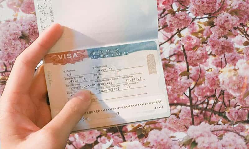 Hồ sơ xin visa thăm thân Hàn Quốc chi tiết nhất