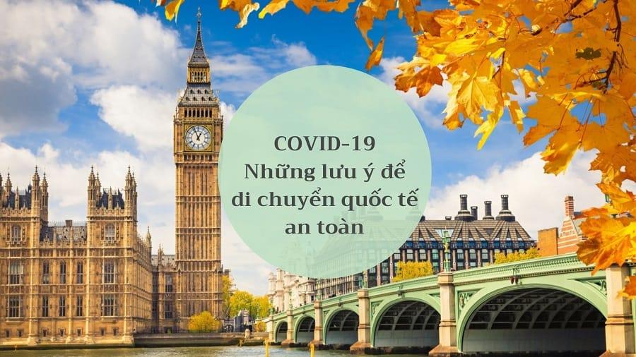 Lưu ý về di chuyển an toàn trong đại dịch COVID-19 - Cập nhật VISANA