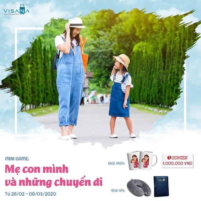 Visana - Mini Game - Mẹ con mình và những chuyến đi