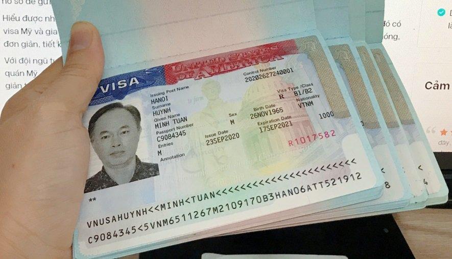 Kết quả gia hạn visa Mỹ - VIsana