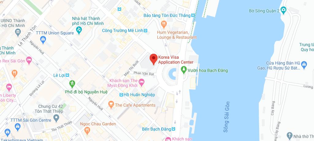 Địa chỉ nộp hồ sơ xin visa Hàn Quốc tại TP HCM - KVAC cơ sở 1