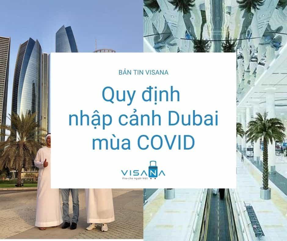 Quy định nhập cảnh Dubai mùa COVID