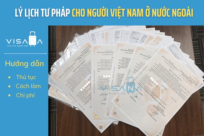 Lý lịch tư pháp cho người Việt Nam ở nước ngoài