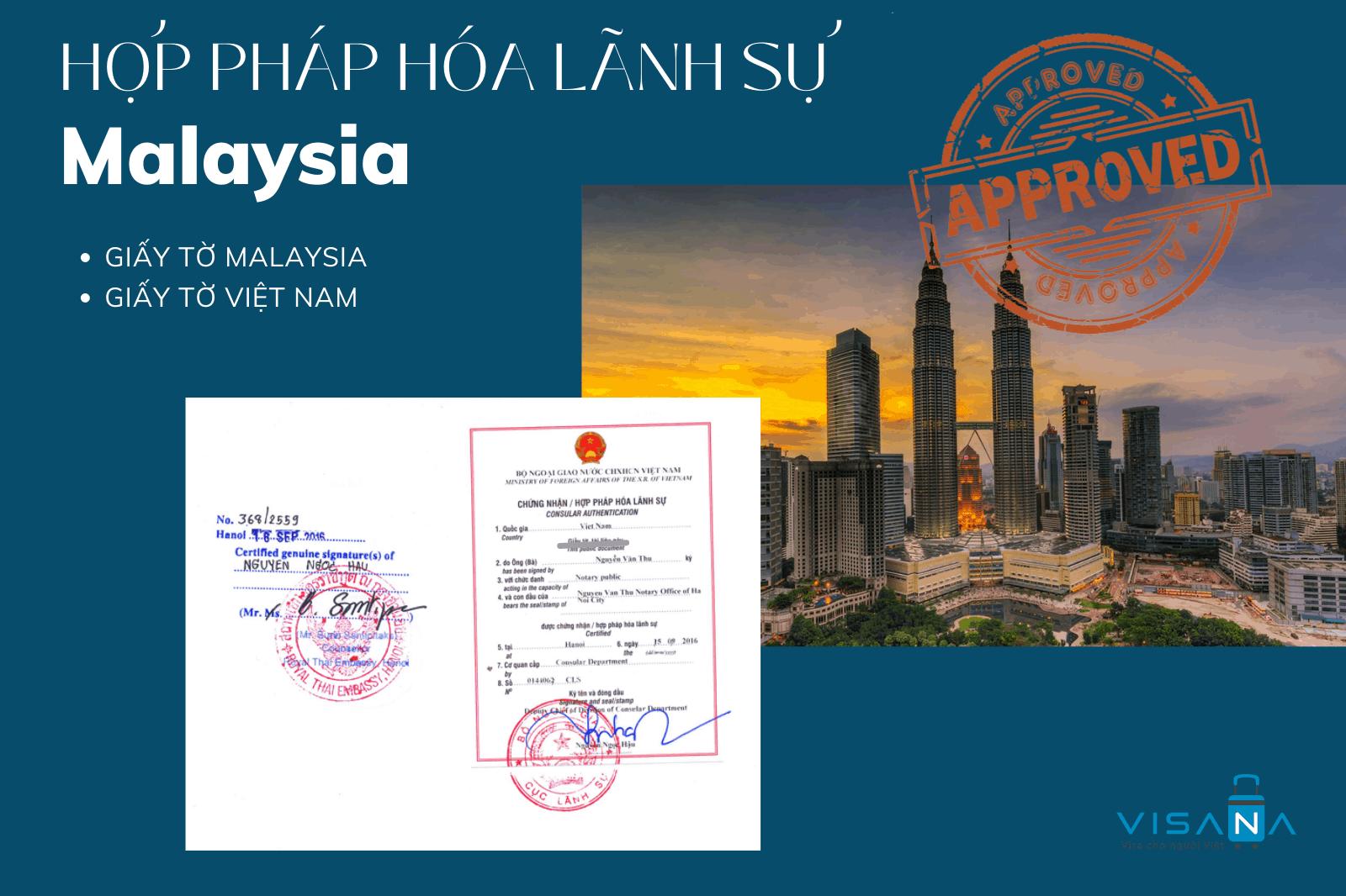 Hợp pháp hóa lãnh sự Malaysia