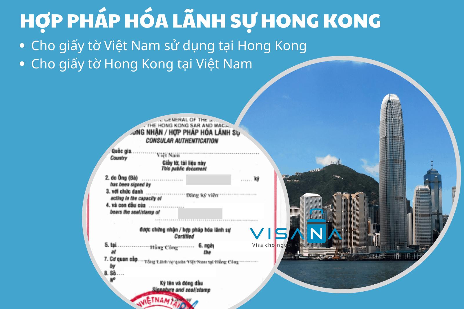Hợp pháp hóa lãnh sự Hong Kong