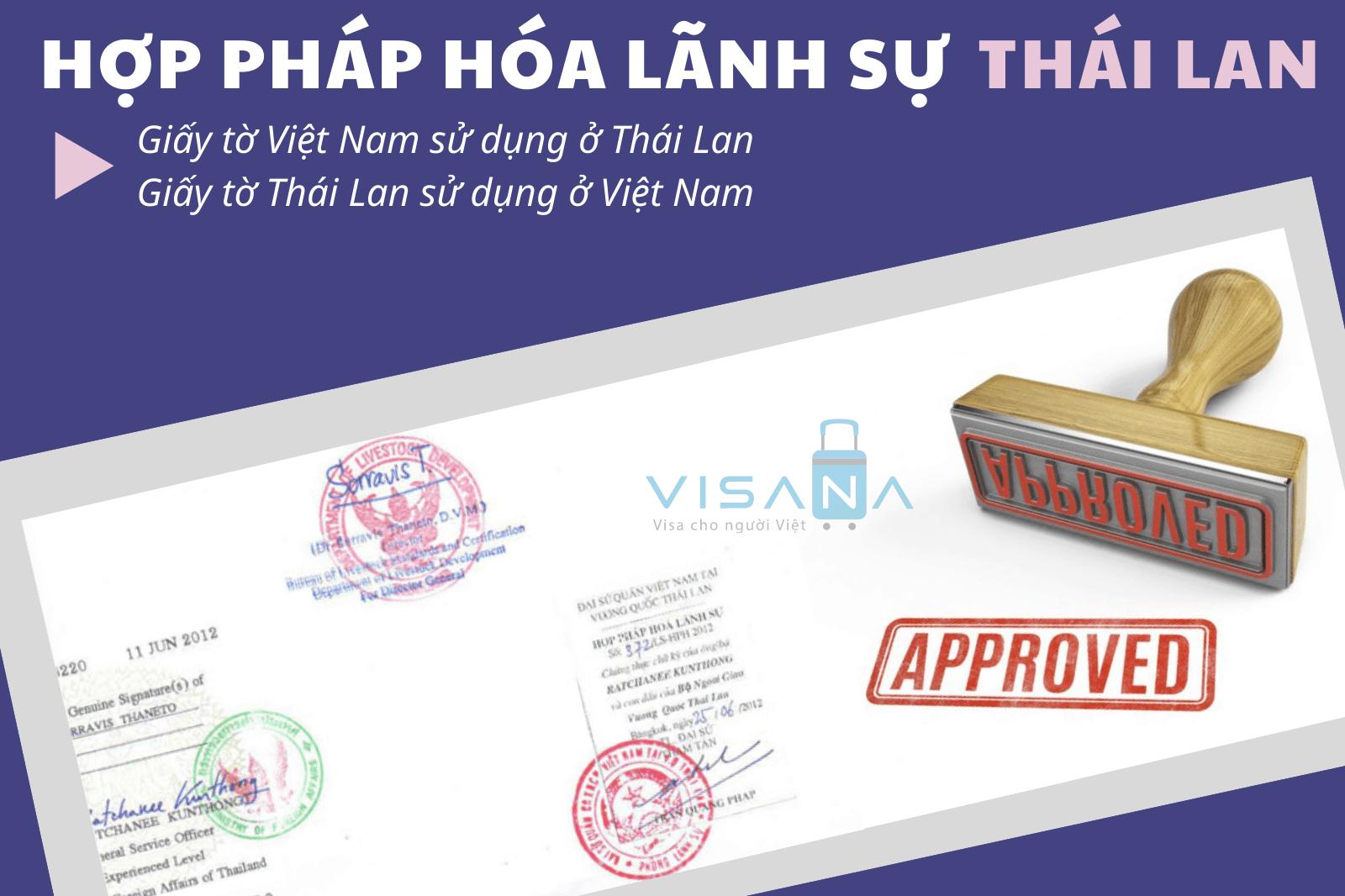 Hợp pháp hóa lãnh sự Thái Lan